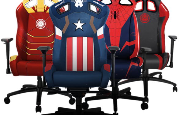 The world's leading gaming chair brand, AndaSeat, partners with Disney to launch its Avengers Marvel gaming chairs