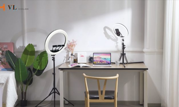 VIDLOK SELFIE RING LIGHT A VITAL TOOL FOR LIVE-BRODCASTING