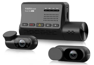 VIOFO introduces its first three camera HD A139 3 Channel dash cam with Wi-Fi transfer