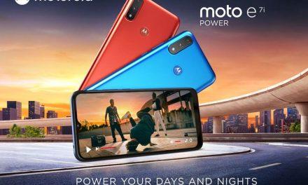 Motorola unveils budget powerhouse with Moto e7i