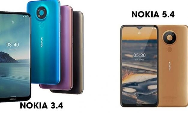 Nokia 3.4 Set to launch alongside Nokia 5.4 Smartphone